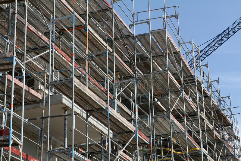 Download Building Site, Tools And Scaffold 9 Stock Image - Image: 31796039