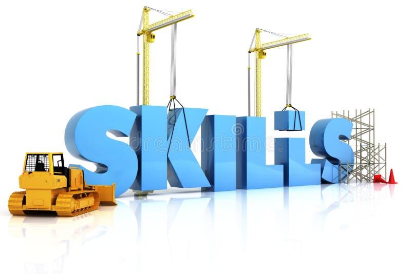 Download Building skills concept stock illustration. Illustration of design - 28539039