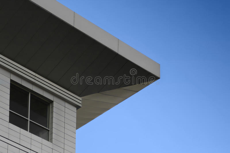 Building and sky stock image