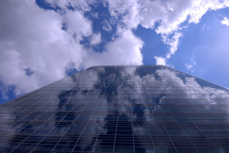 Building with sky royalty free stock photo