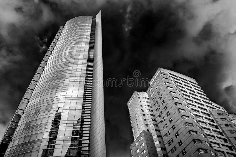 Download Corporate Skyscraper Building And Sky Royalty Free Stock Photos - Image: 35365458