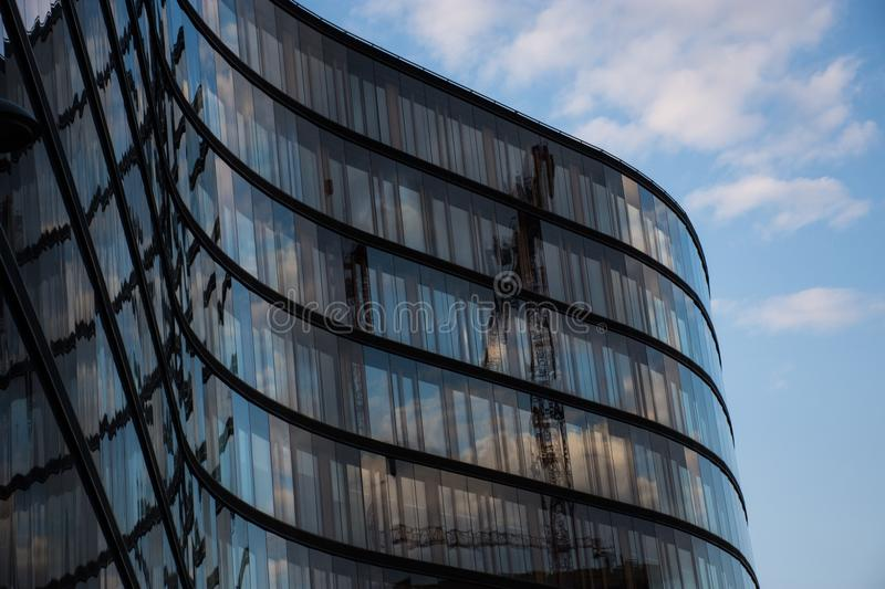 Building, Sky, Reflection, Architecture royalty free stock photography