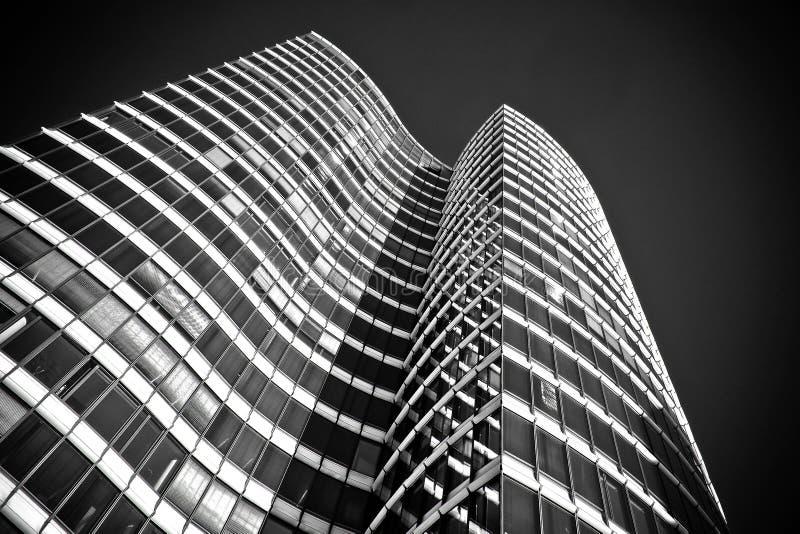 Building, Skyscraper, Black And White, Landmark royalty free stock photography