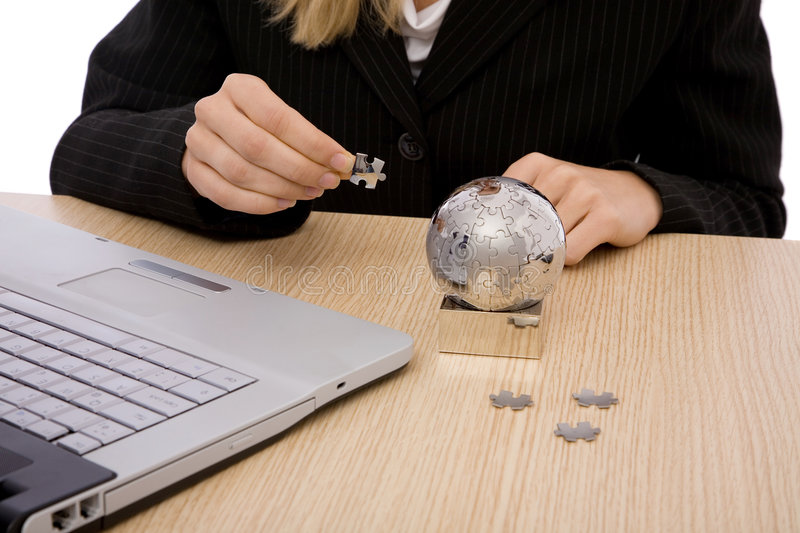 Download Building A Solution Royalty Free Stock Images - Image: 3792399