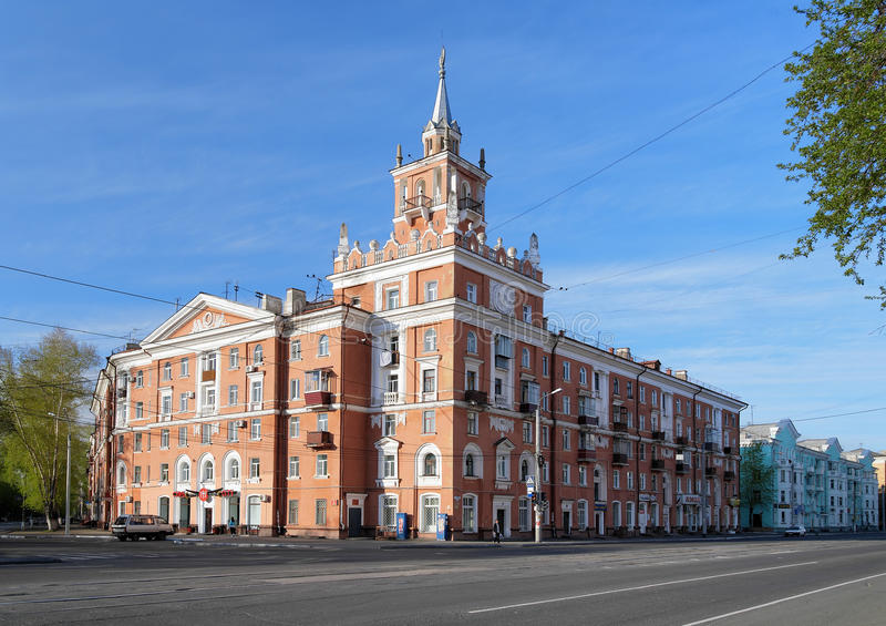 Download Building With Spire In Komsomolsk-on-Amur. Russia Editorial Stock Photo - Image: 22416808