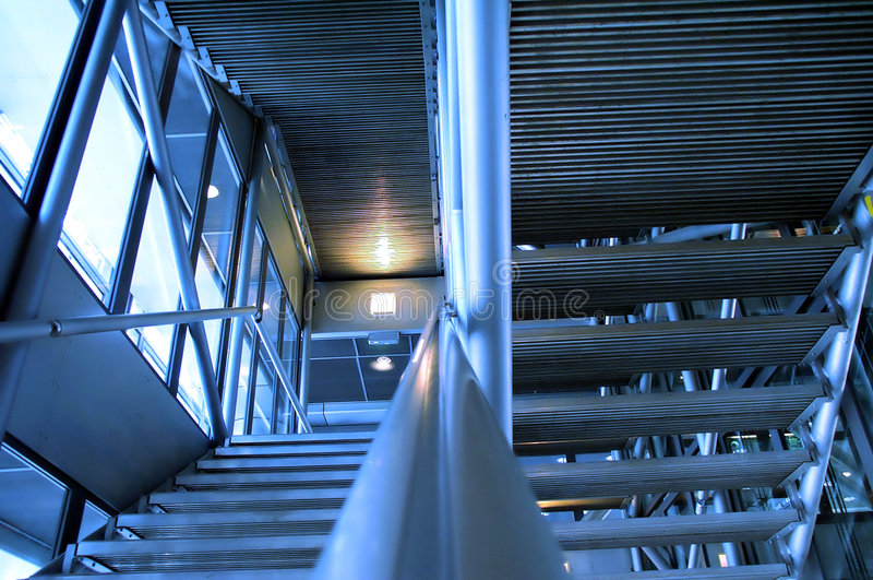 Download Building - stainless steel stock photo. Image of staircase - 130