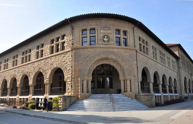 Building in Stanford University royalty free stock photography