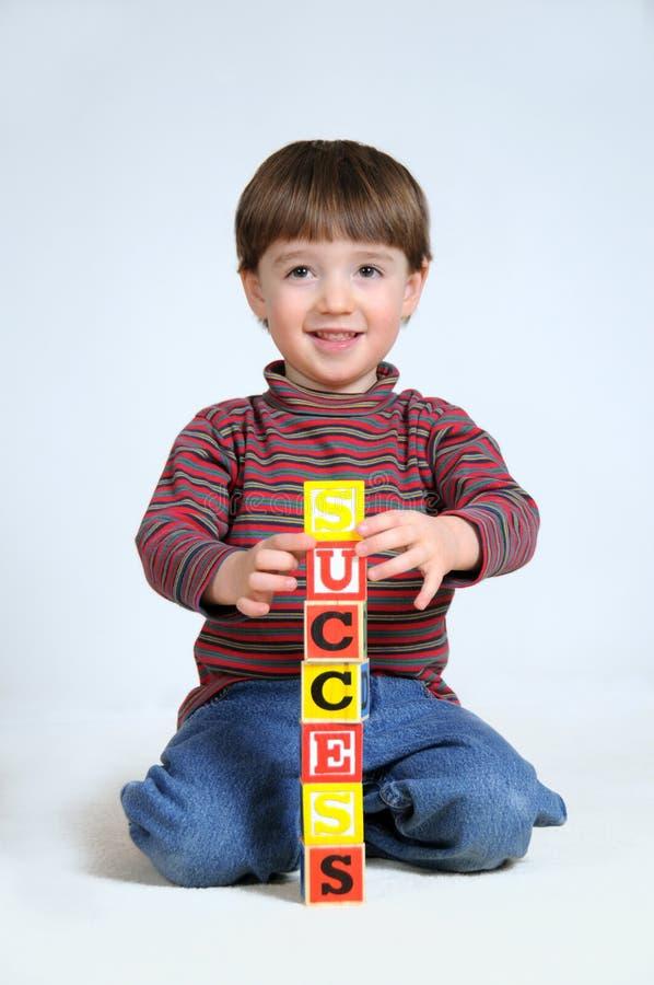 Download Building Success stock photo. Image of preschooler, smiling - 13997714