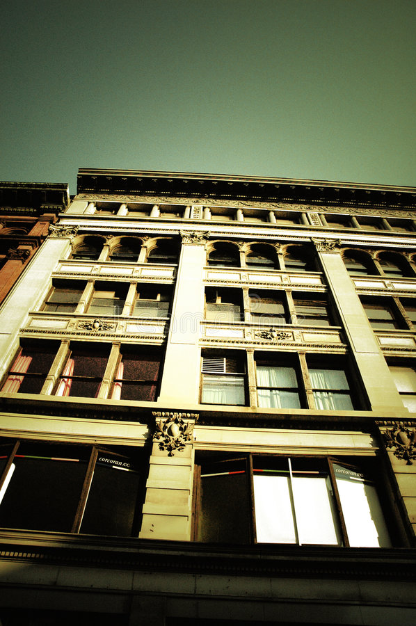 Building in the Sun royalty free stock photo