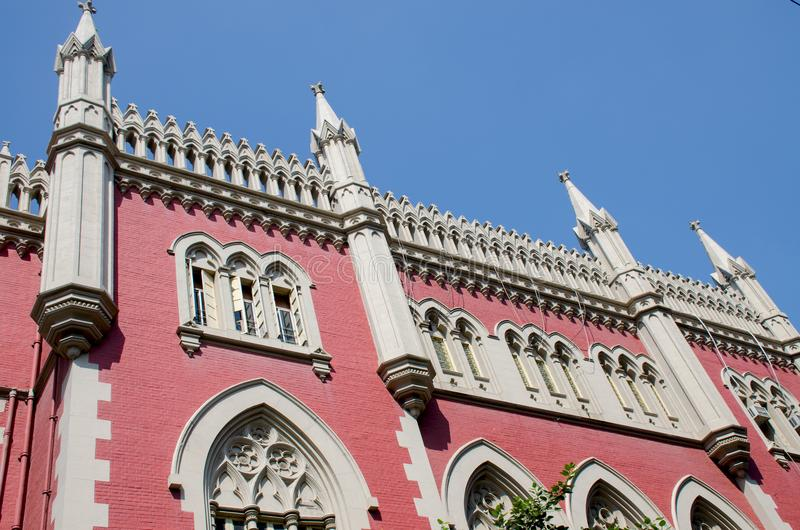 Building Supreme Court Calcutta India royalty free stock photography