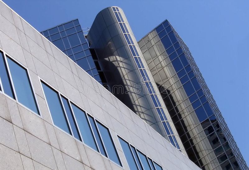 Building for telecommunication and telephone. At Sloterdijk near Amsterdam stock photography