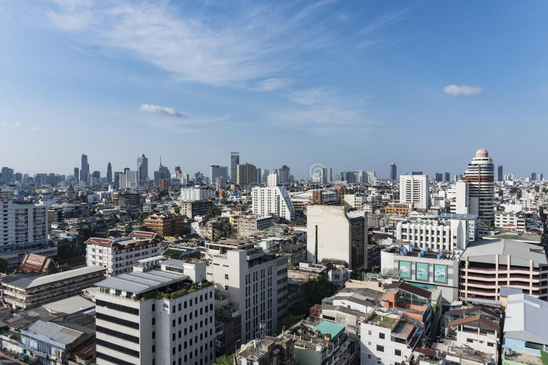 Building in thailand stock photography