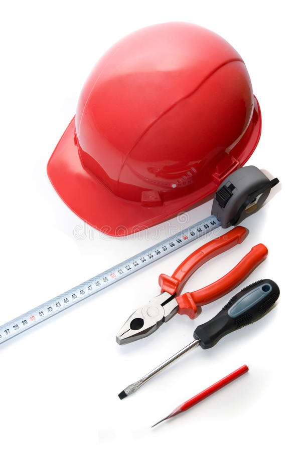 Building tools stock photography