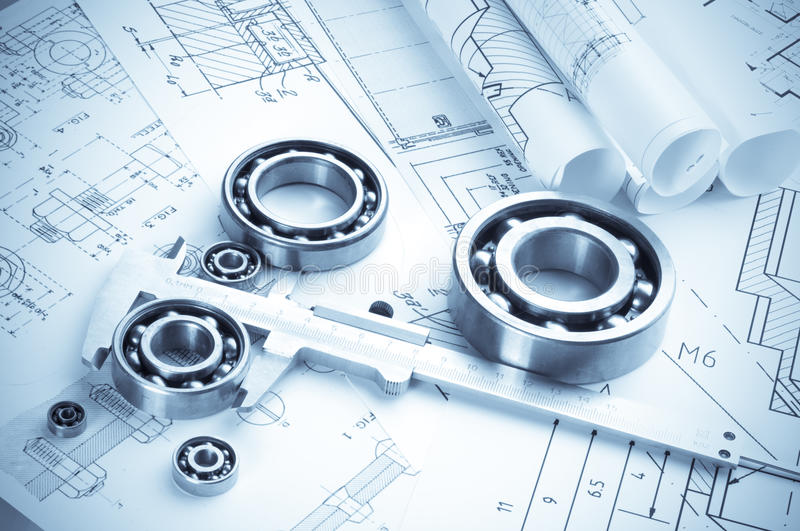 Download Building tools stock photo. Image of bluelines, mechanical - 12178816