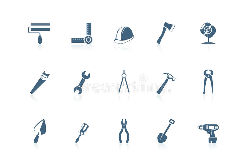 Building tools   piccolo series royalty free illustration