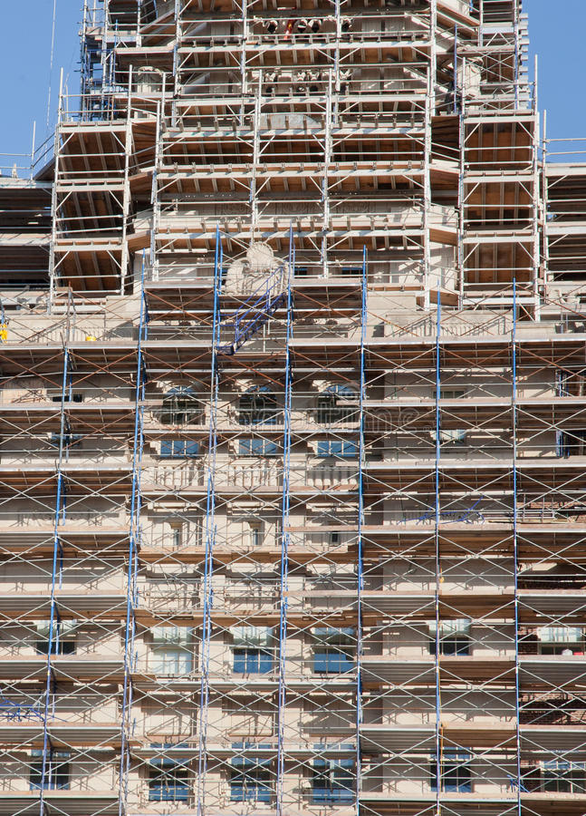 Free Building Under Construction Stock Image - 28134461