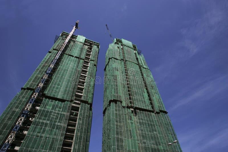 Download Building Under Construction Stock Photo - Image of construction, crane: 500808