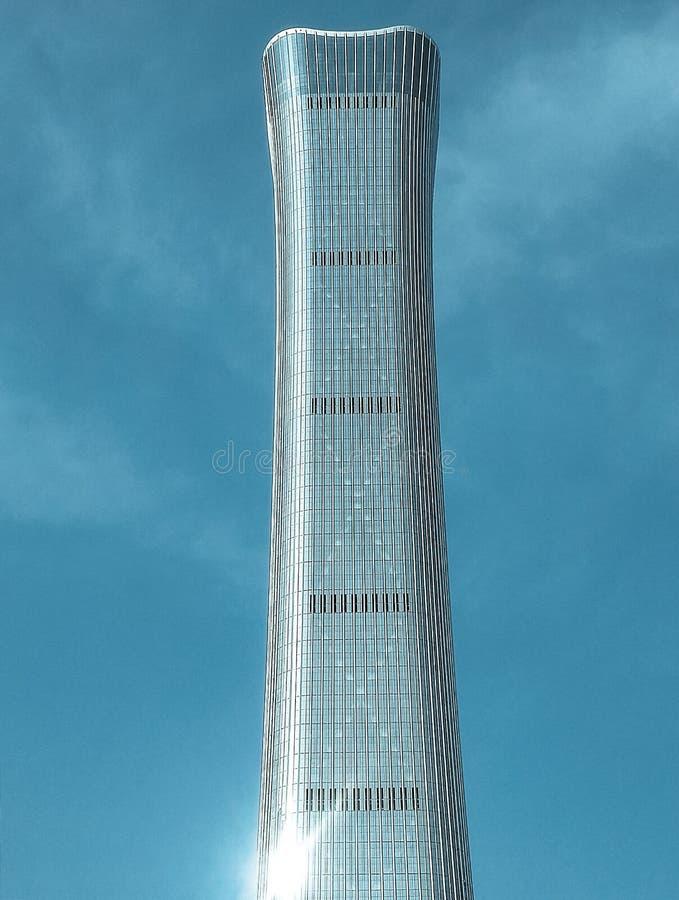 beijing tallest building royalty free stock photos