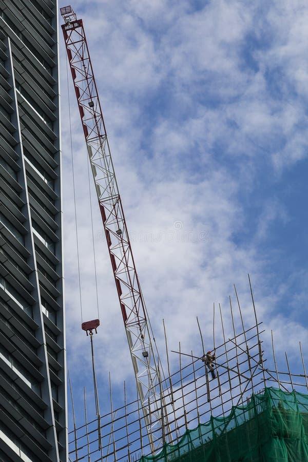 A building under construction stock photos