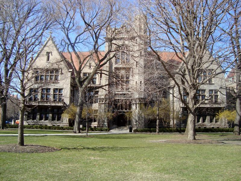 Building At University of Chicago royalty free stock image
