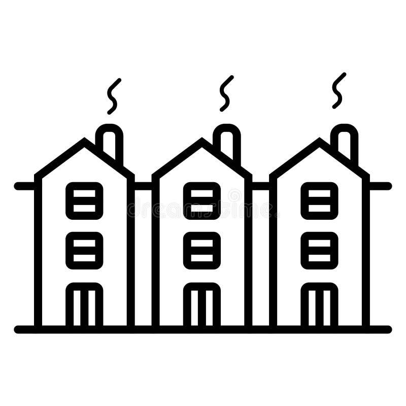 Building vector icon. Illustration photo royalty free illustration