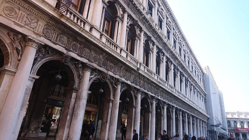 Building in Venice, Italy royalty free stock image