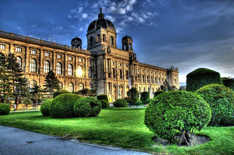 Building in vienna, austria stock images