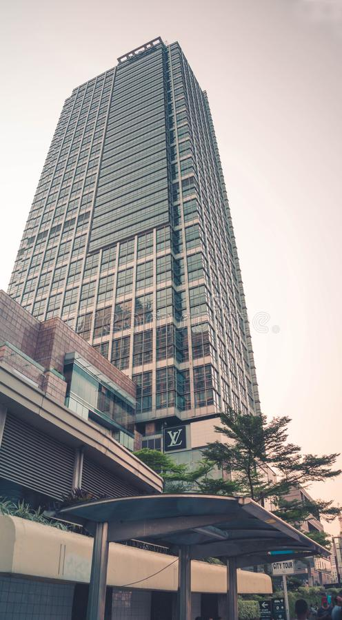 Building at Plaza Indonesia, Jakarta. Indonesia stock images