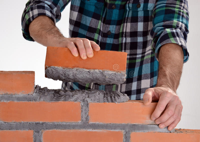 Download Building A Wall. Stock Photos - Image: 36944103