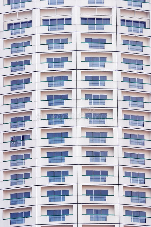 Building Windows Pattern royalty free stock photos