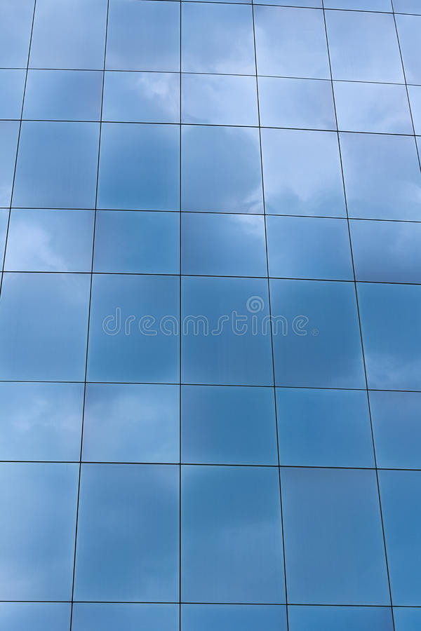 Download Building Windows Reflecting Sky Stock Photo - Image: 31905446