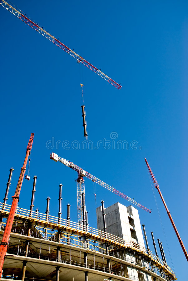 Download Building yard stock image. Image of architecture, hoist - 5918395