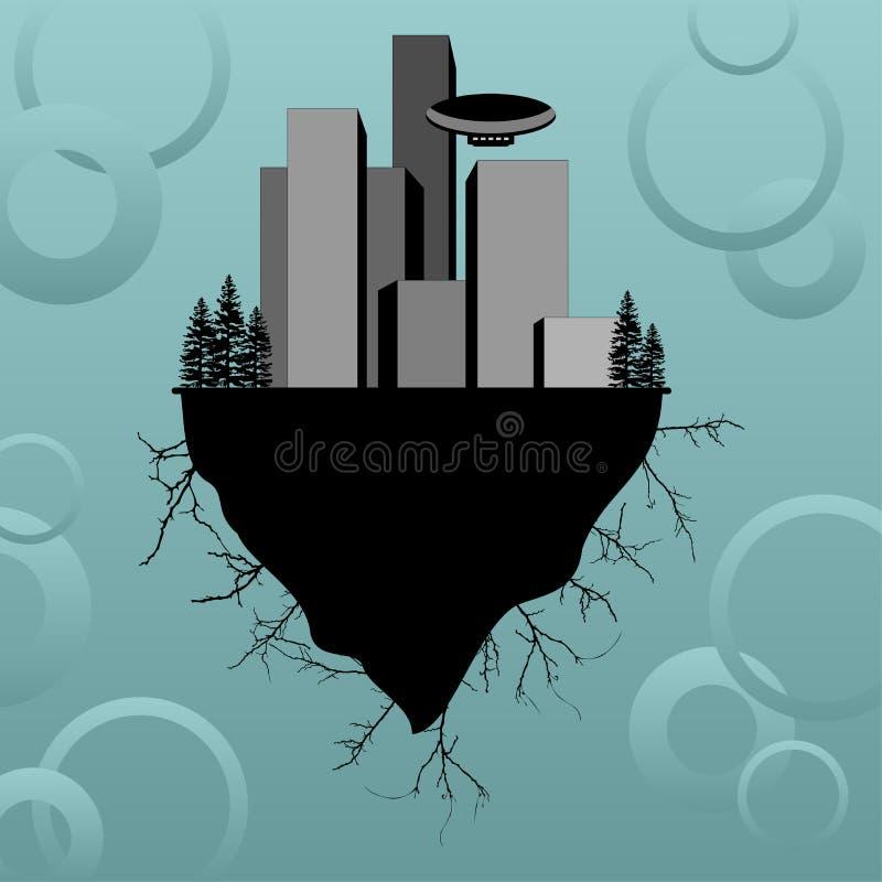 Download Buildings_03 stock vector. Illustration of metropolis - 2197634