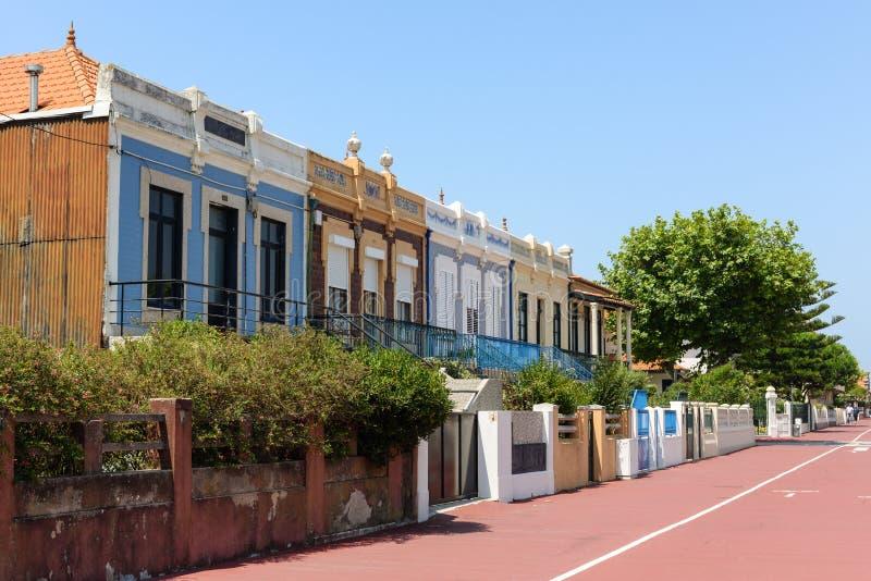 Buildings in Aguda stock photo