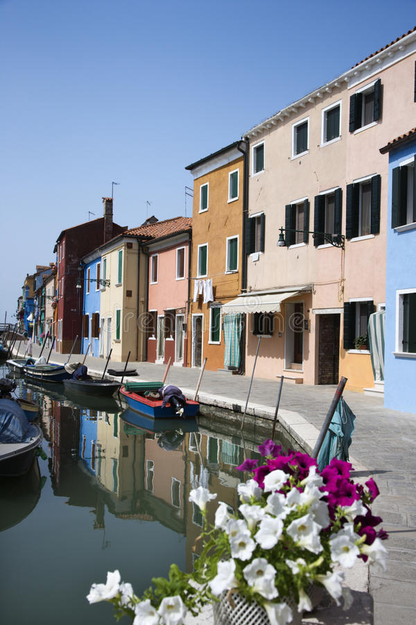 Free Buildings And Boats On Venice Canal Royalty Free Stock Images - 12982179