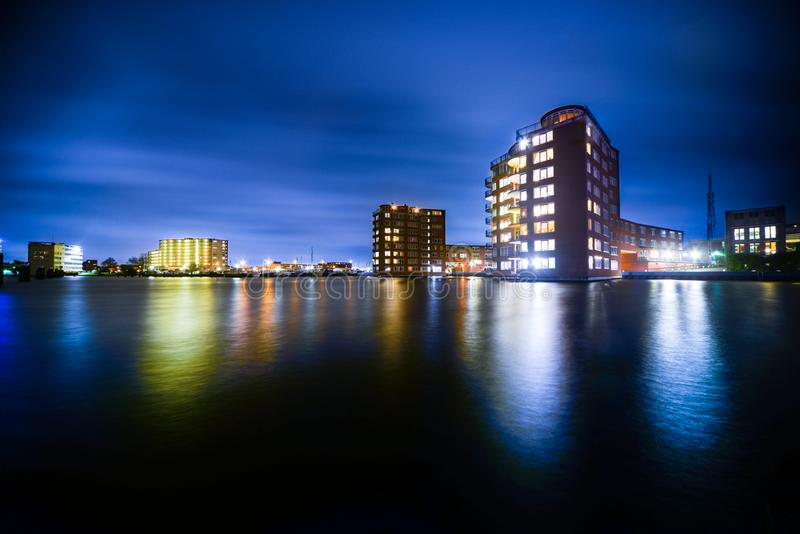 Buildings Beside Body Of Water stock photos