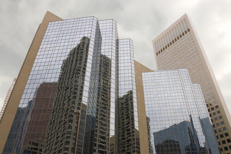 Buildings in Calgary, Canada royalty free stock photo
