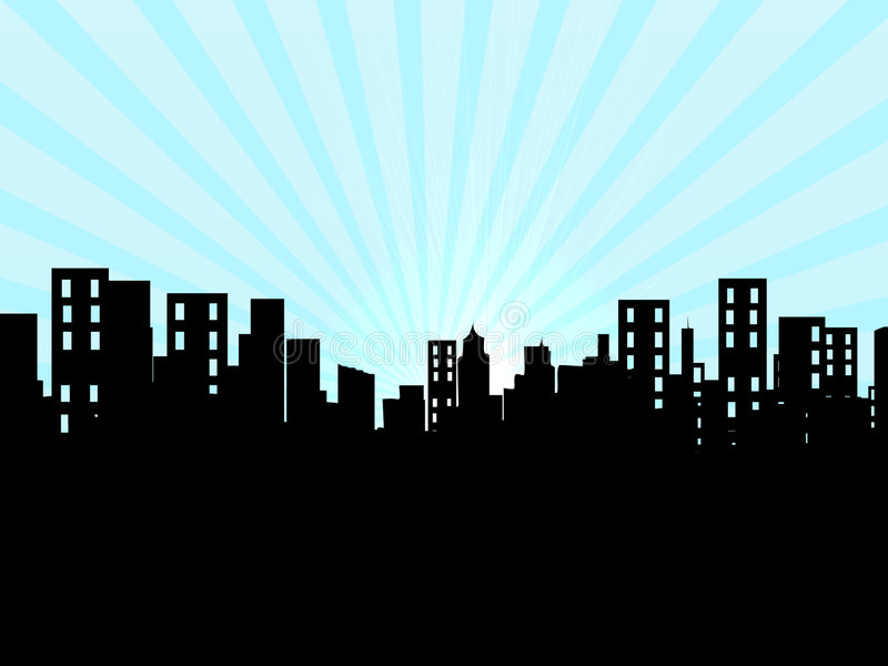 Download Buildings, city, cityscape stock illustration. Image of rise - 2195814