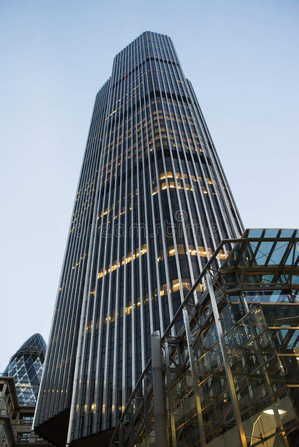 Buildings in city of London. Contemporary Buildings in city of London royalty free stock photos