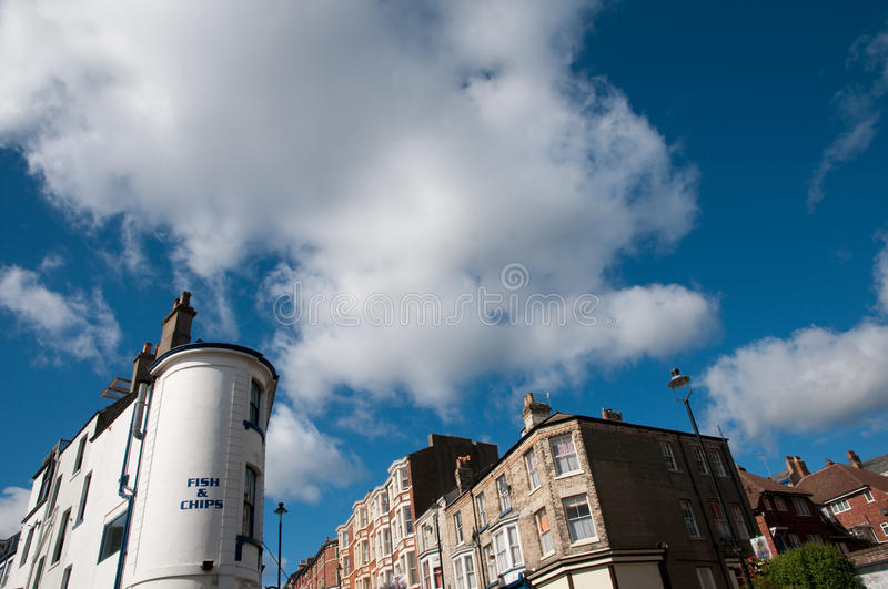 Download Buildings and clouds stock image. Image of yorkshire - 28139457