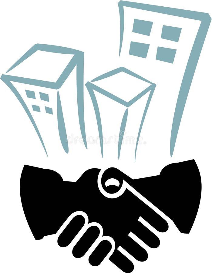 Buildings logo stock illustration