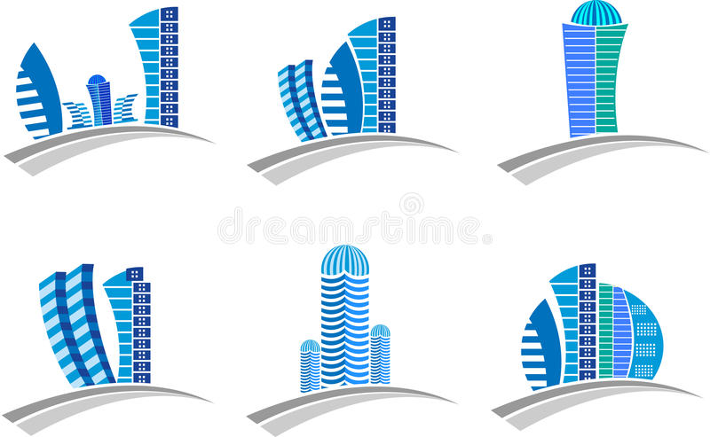 Download Buildings logo stock vector. Image of architecture, glass - 39777232
