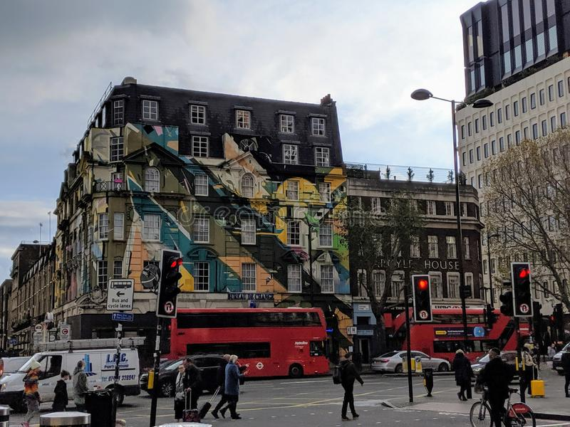 Buildings of London, Great Britain,UK. stock photography
