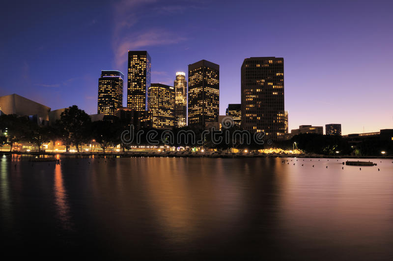 Download Buildings Los Angeles CA stock image. Image of highrise - 12599001