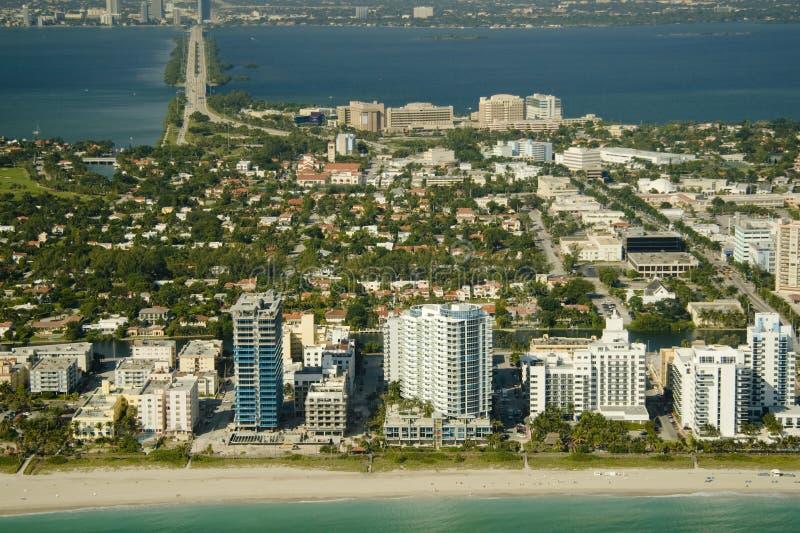 Miami city stock photo