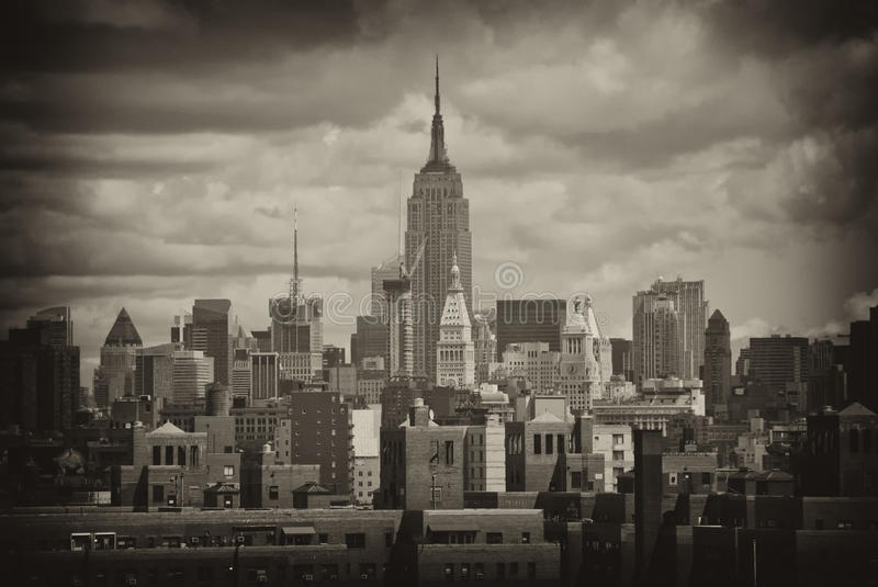 Download Buildings of New York City stock image. Image of skyline - 16442443