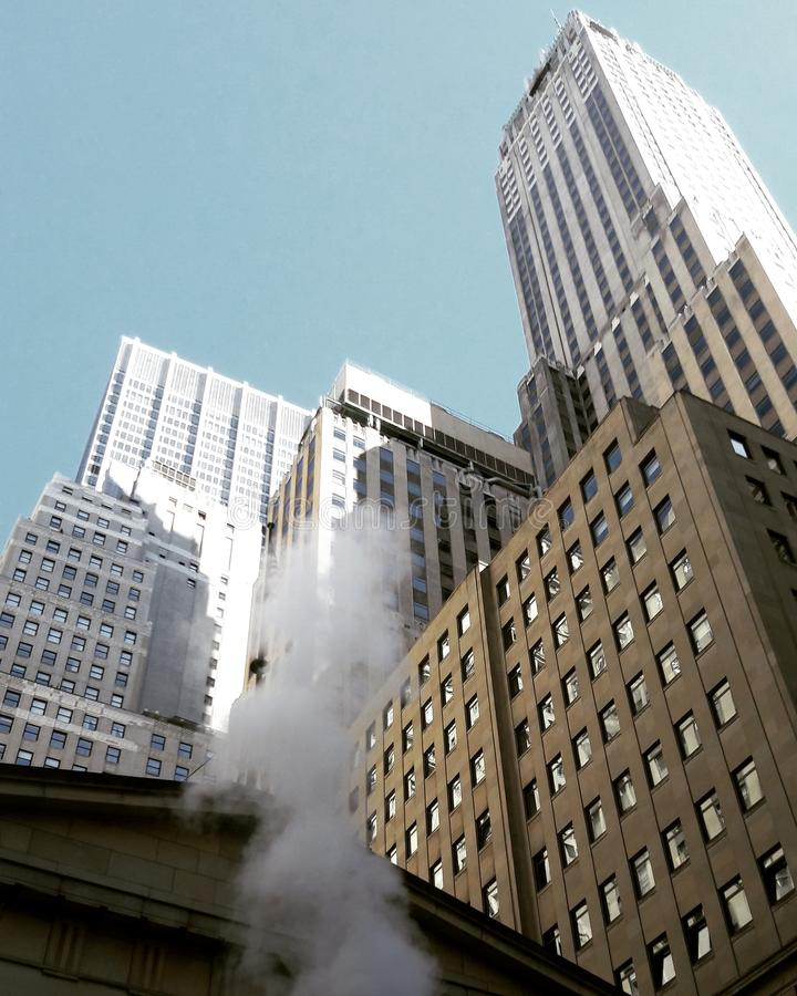 Buildings in New York royalty free stock image