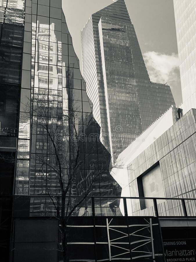 Buildings nyc royalty free stock photo