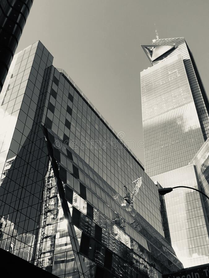 Buildings in nyc stock photos