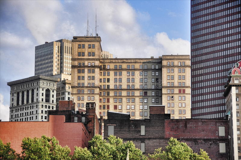 Download Buildings in Pittsburgh stock photo. Image of exterior - 10507062